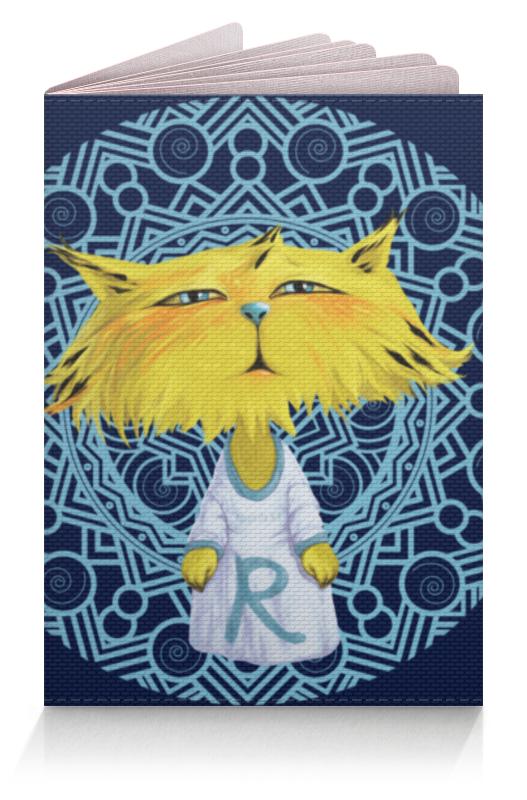 Обложка для паспорта Printio Рысёнок желтый полосатик сушеный каждый день 40г