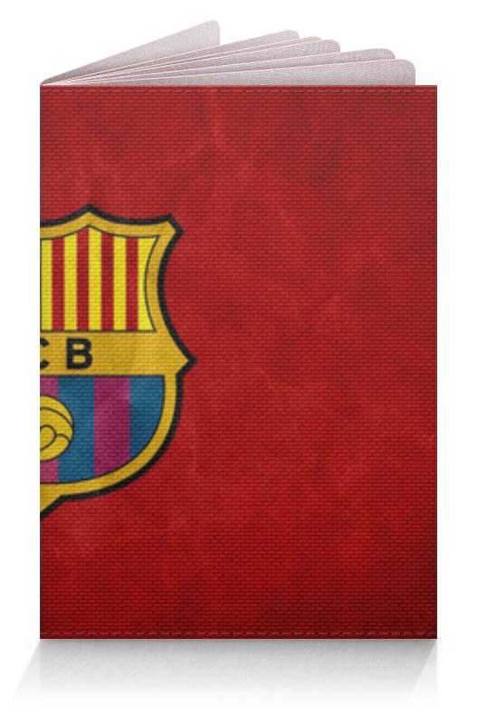 Обложка для паспорта Printio Барселона (барса)