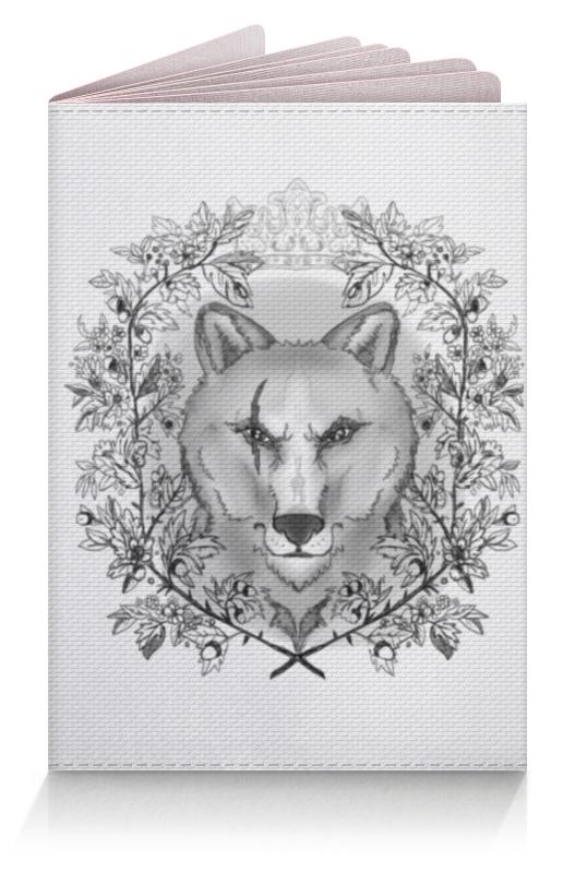 Printio Тотем волк обложка для паспорта printio тотем сокол