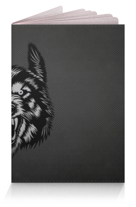 Обложка для паспорта Printio Волк (wolf) гамак lone wolf lone wolf
