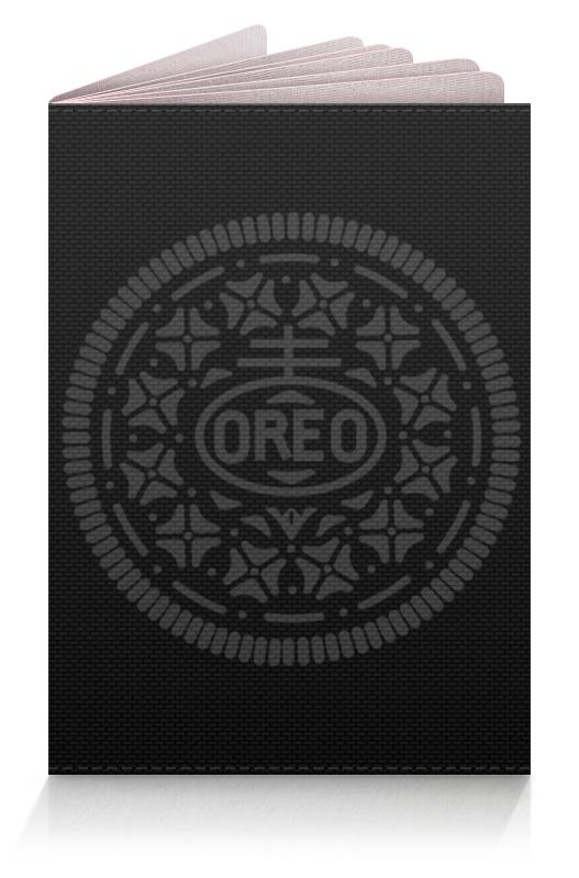Обложка для паспорта Printio Печенье орео / oreo cookies unibis pista badam cookies печенье с миндалем и фисташками 75 г
