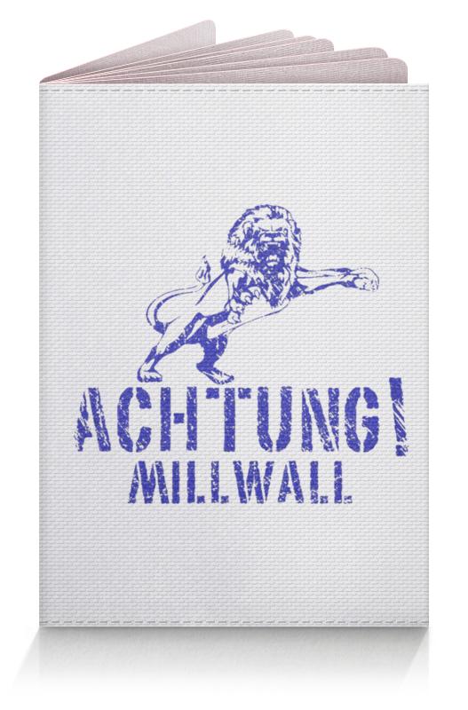 Printio Achtung millwall fc logo passport cover