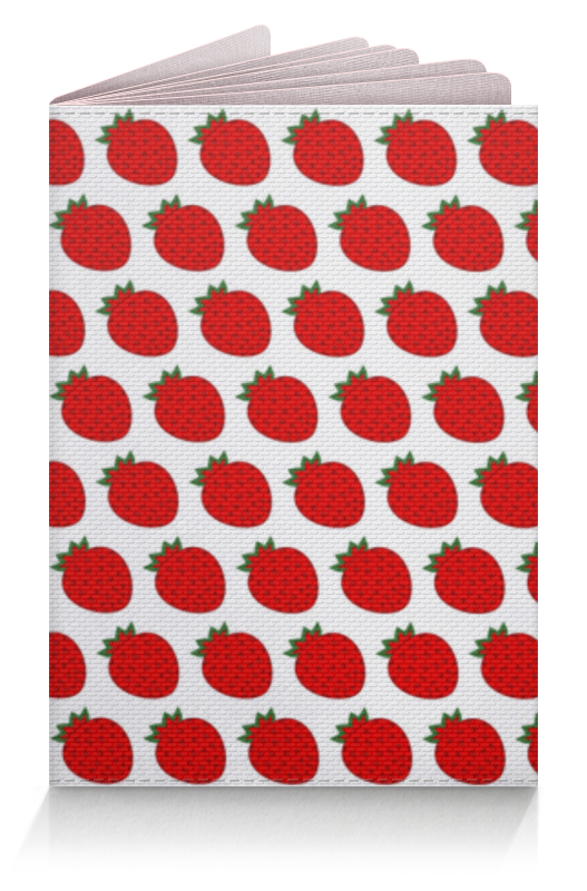 Обложка для паспорта Printio Strawberry strawberry print halter top