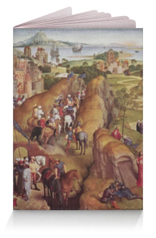 Обложка для паспорта Printio Семь радостей марии (ганс мемлинг)