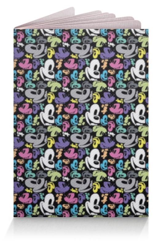 Обложка для паспорта Printio Микки маус игрушка для животных каскад удочка с микки маусом 47 см