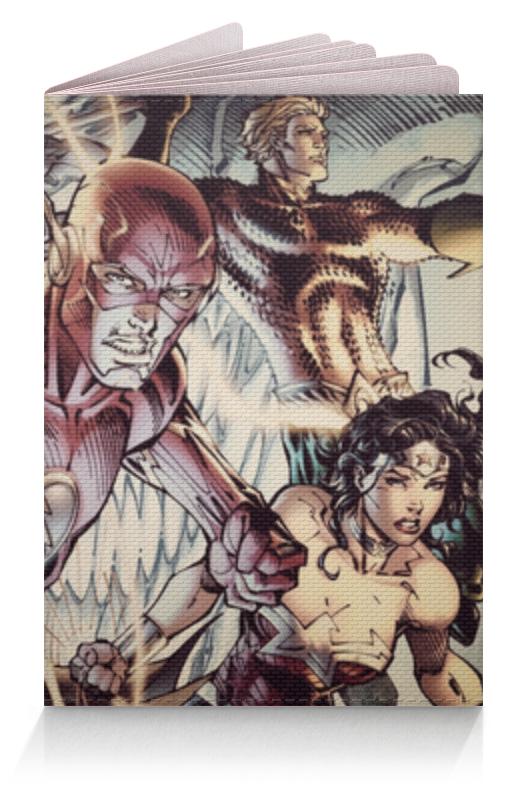 Фото - Обложка для паспорта Printio Супергерои комиксов чехол для iphone 7 глянцевый printio супергерои комиксов