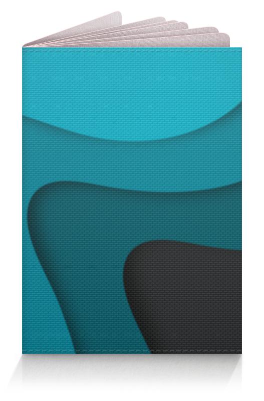 Обложка для паспорта Printio Волнистый обложка для паспорта printio абстрактный фон