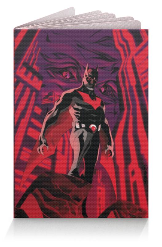 Обложка для паспорта Printio Batman beyond / бэтмен будущего лонгслив printio batman beyond бэтмен будущего