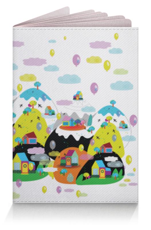 Обложка для паспорта Printio Облачный городок жк лесной городок одинцово купить квартиру
