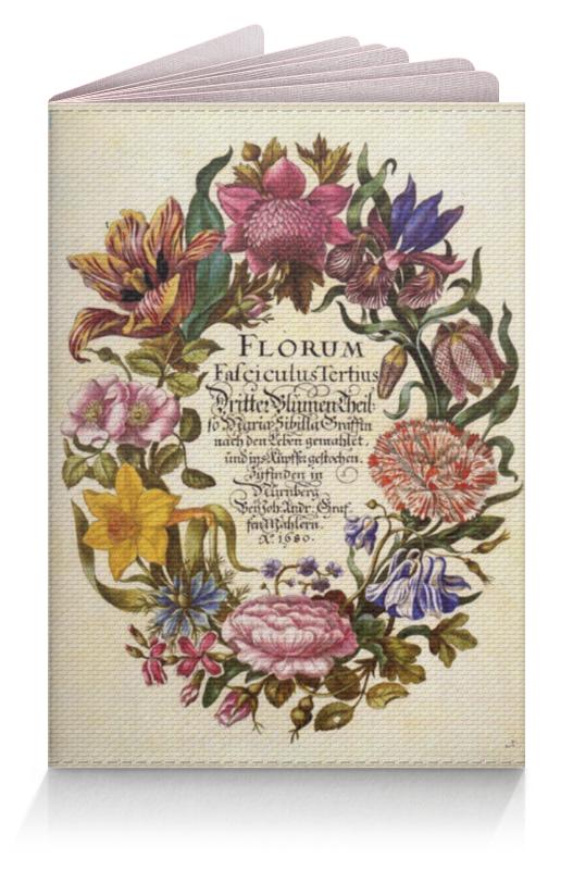 Обложка для паспорта Printio Винтажные цветы обложка для паспорта printio нежные цветы