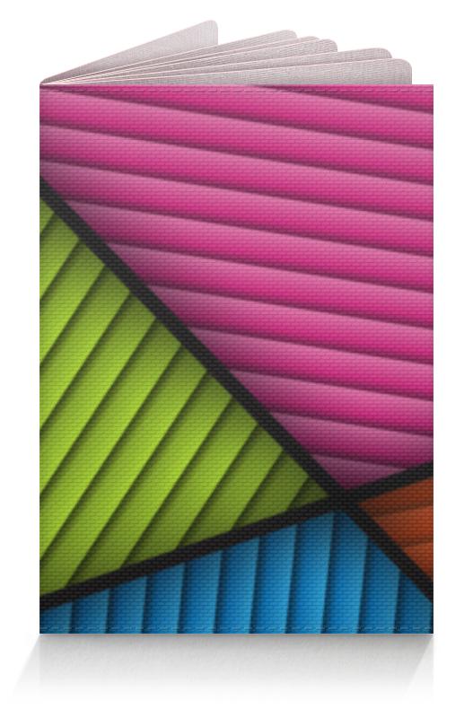 лучшая цена Обложка для паспорта Printio Цветная абстракция