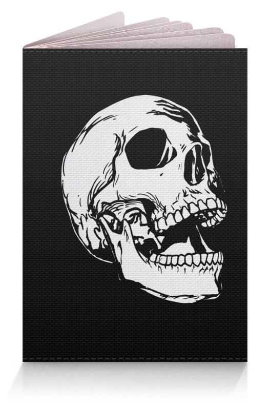 Обложка для паспорта Printio Бедный йорик фон для презентации черный