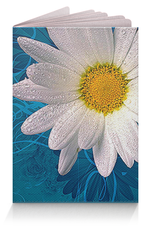 Обложка для паспорта Printio Цветочный стиль обложка для паспорта printio тигровый стиль