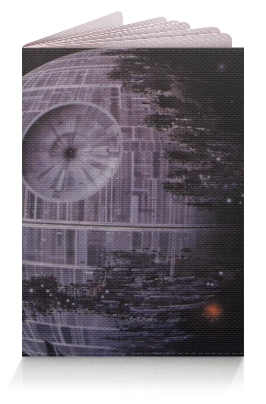 Обложка для паспорта Printio Звезда смерти (star wars)