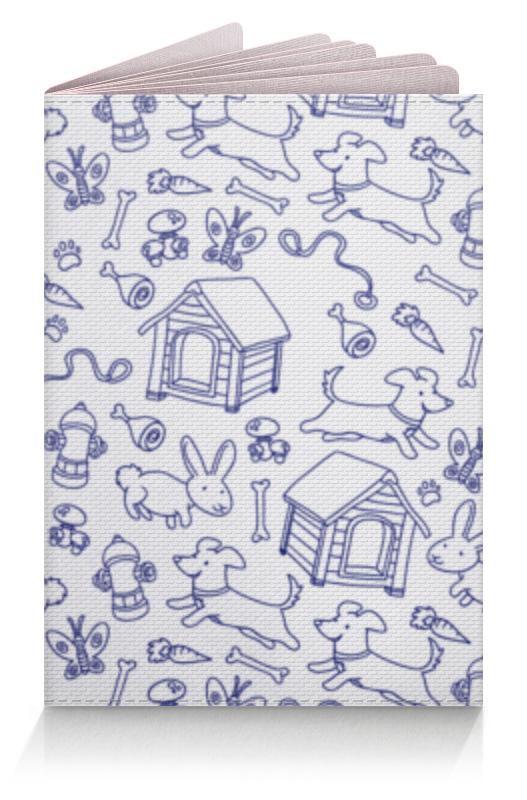 Обложка для паспорта Printio Собаки и кролики