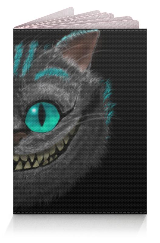 Обложка для паспорта Printio Чеширский кот чехол для ноутбука 14 printio кот cat