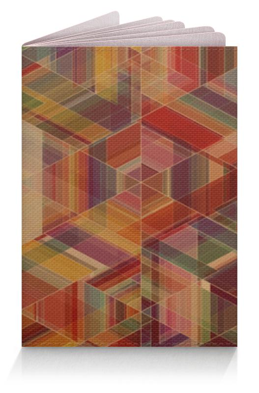 Обложка для паспорта Printio Разноцветность обложка для паспорта printio демон сидящий