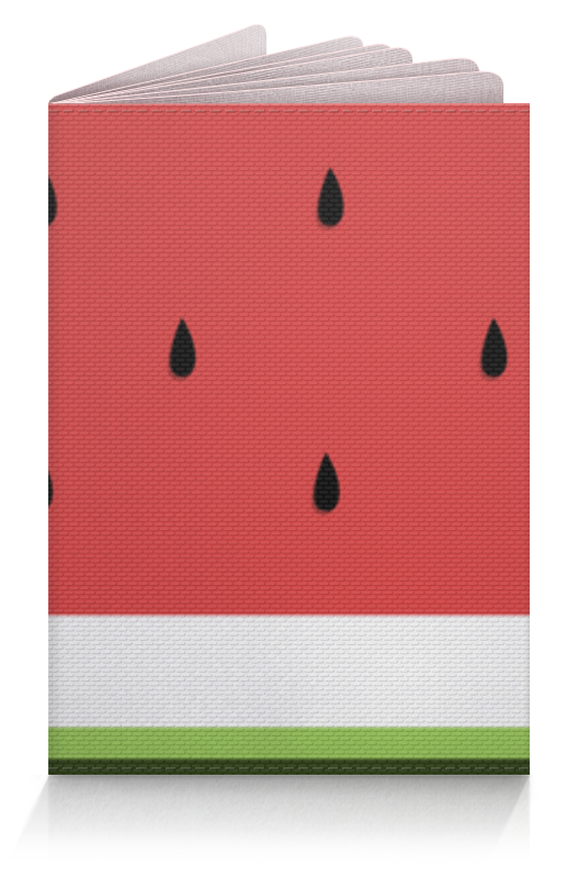 Обложка для паспорта Printio Арбузы обложка для паспорта printio бабочки