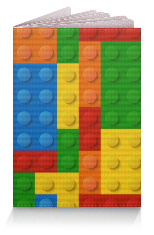 Обложка для паспорта Printio Конструктор лего