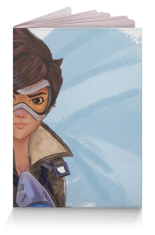 Фото - Обложка для паспорта Printio Девушка (overwatch) обложка для паспорта printio девушка overwatch