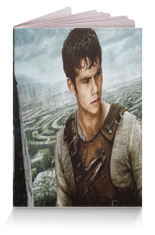 Обложка для паспорта Printio Бегущий в лабиринте / the maze runner long john silver vol 3 the emerald maze