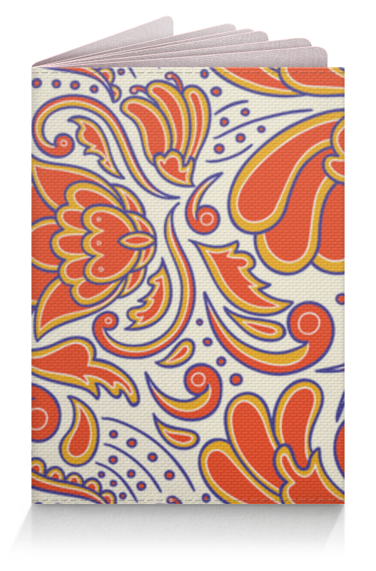 Обложка для паспорта Printio Узорный обложка для паспорта printio абстрактный фон