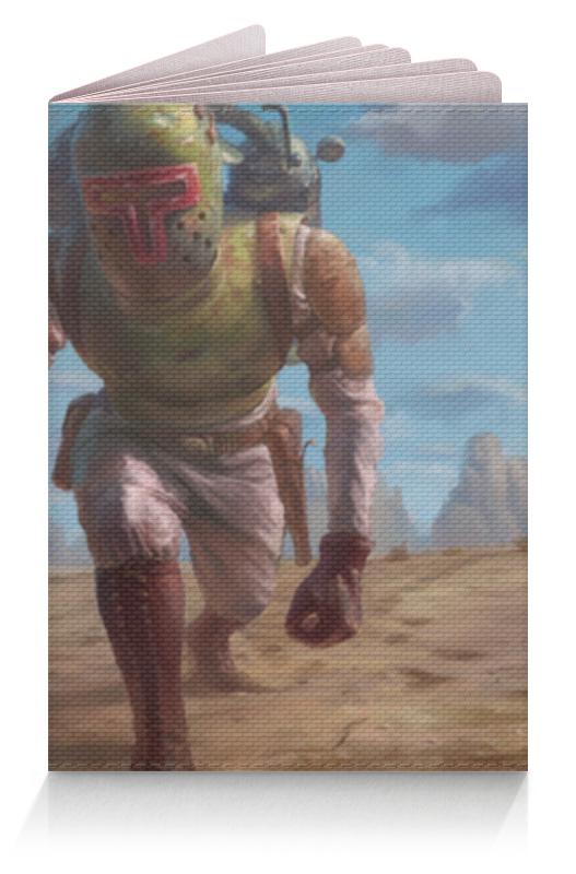 Обложка для паспорта Printio Боба фетт (звездные войны) обложка для паспорта printio железный человек боба фетт