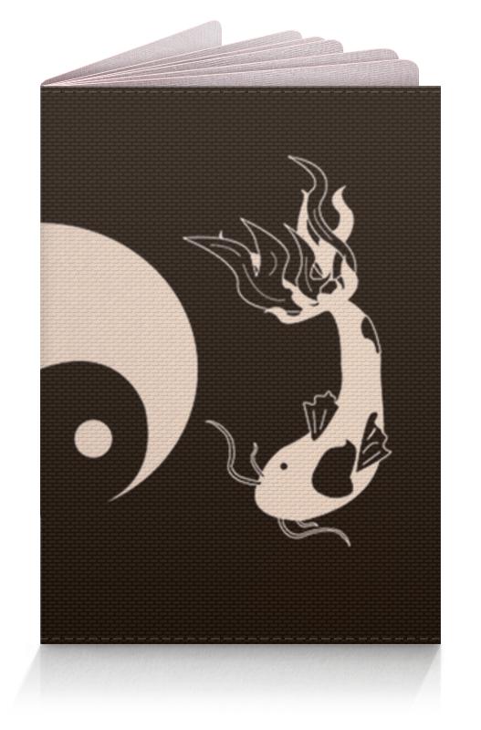 Обложка для паспорта Printio Иньянь обложка для паспорта printio бутылки