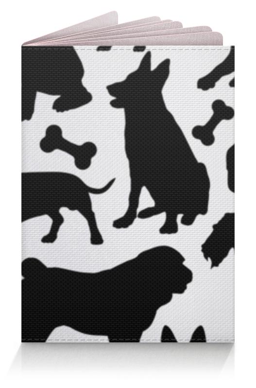 Обложка для паспорта Printio Собаки обложка для паспорта printio демон сидящий