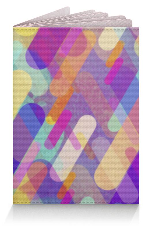 Обложка для паспорта Printio Разноцветная абстракция бандана m wave полиэстер с микрофиброй jamaica разноцветная 24х48 см 5 715188