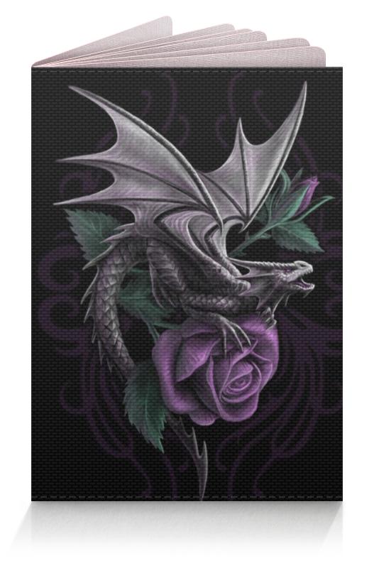 Обложка для паспорта Printio Dragon soul