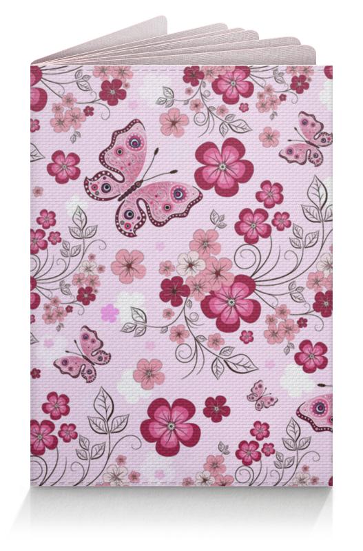 Обложка для паспорта Printio Бабочки композиция цветочная 19 см русские подарки композиция цветочная 19 см