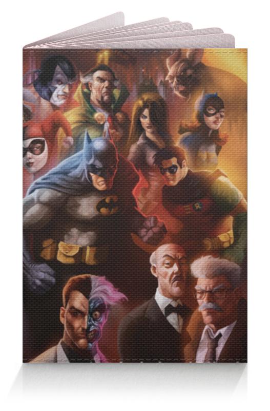 Обложка для паспорта Printio Batman/бэтмен the call of the wild white fang