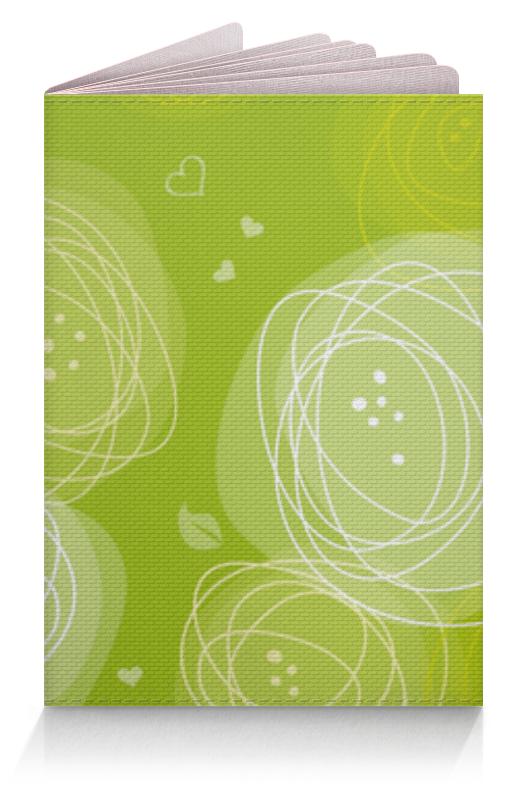 Обложка для паспорта Printio Летняя абстракция обложка для паспорта printio композиция