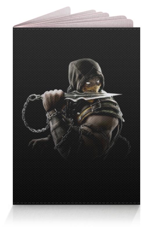 Обложка для паспорта Printio Mortal kombat (scorpion) обложка для паспорта printio обложка mortal kombat x sub zero