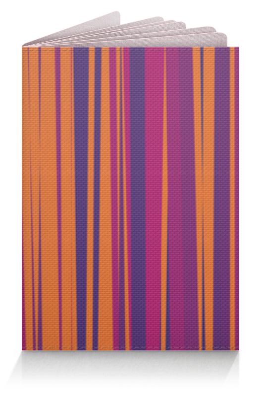 Обложка для паспорта Printio Полосатая абстракция обложка для паспорта printio абстрактный фон