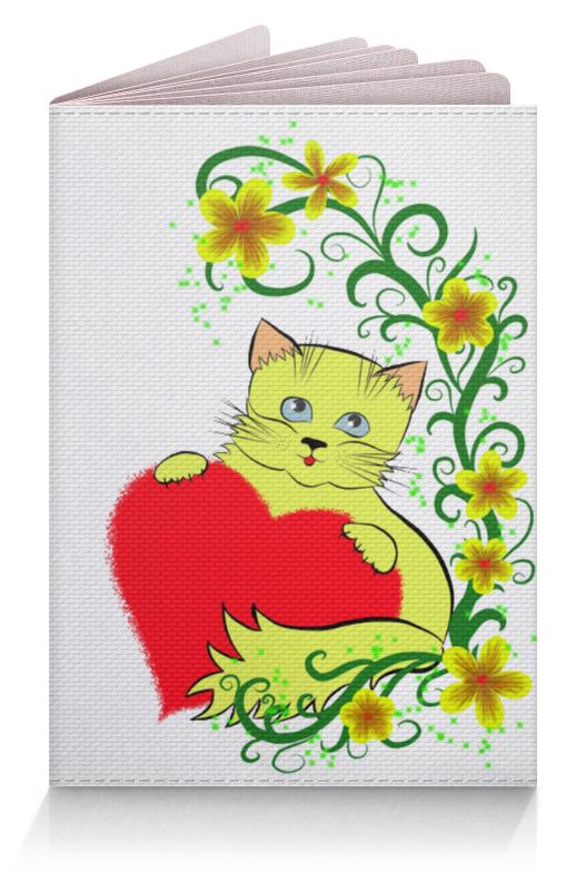 Обложка для паспорта Printio Котёнок погремушка котёнок