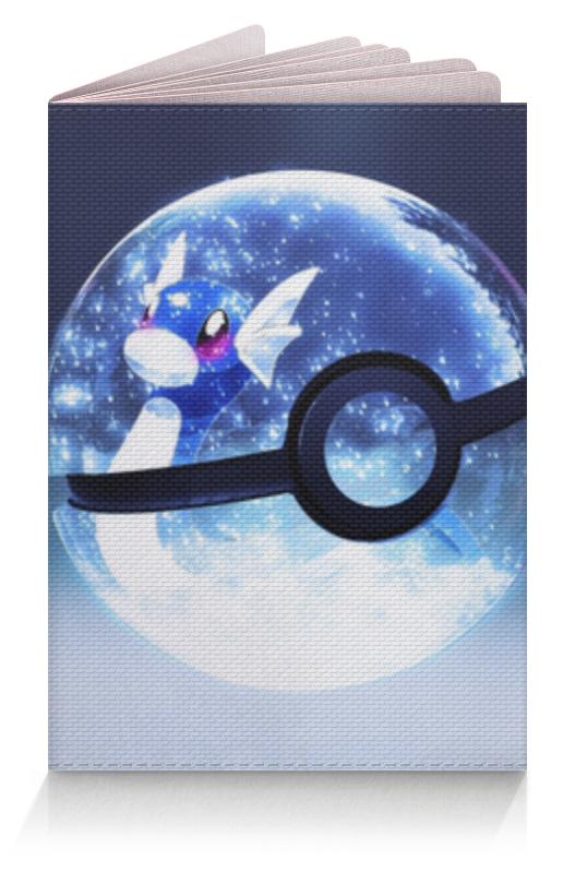 Обложка для паспорта Printio Покемон гоу (pokemon go) lno 132pcs lapras pokemon building block