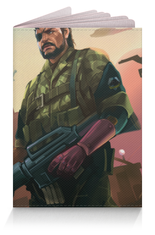 Обложка для паспорта Printio Биг босс обложка для паспорта printio солдат