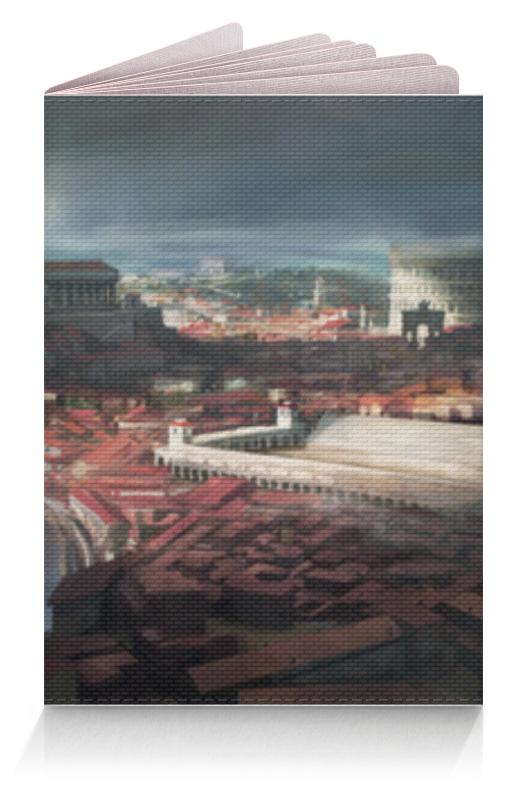 Обложка для паспорта Printio Римский город белый город сливки стерилизованные 10% 0 2 л