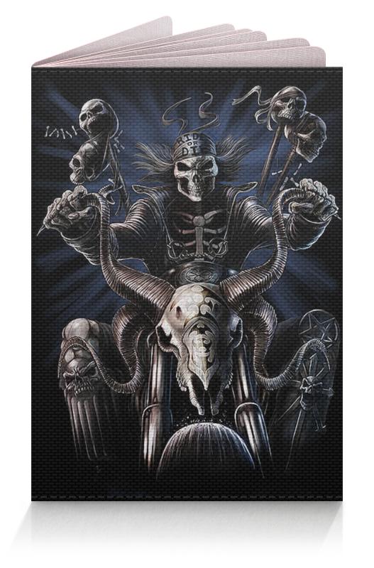 Обложка для паспорта Printio Скелеты фэнтези тарифный план