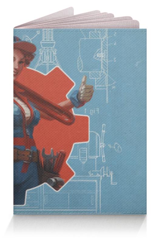 Обложка для паспорта Printio Фэллаут футболка классическая printio fallout фэллаут