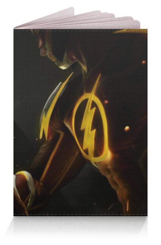 Обложка для паспорта Printio Batman vs flash / бэтмен против флэша плащ и маска флэша uni