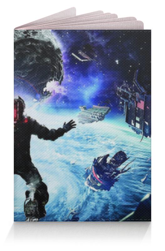Обложка для паспорта Printio Мёртвый космос (dead space) обложка для паспорта printio космос внутри