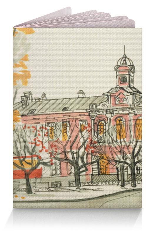 Обложка для паспорта Printio Главный корпус кружка printio главное здание тимирязевской академии