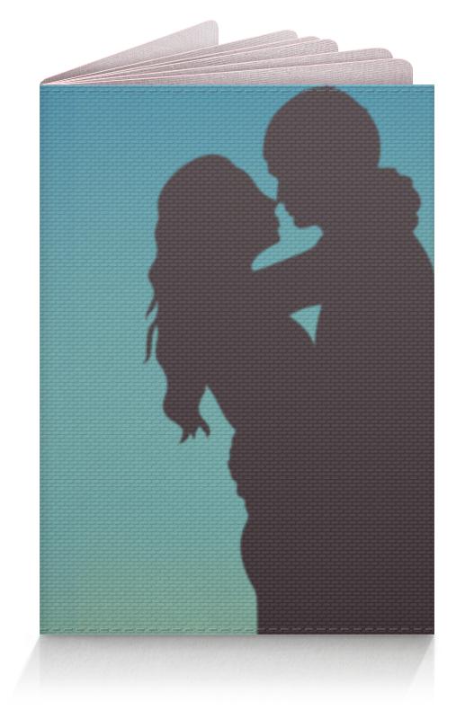 Обложка для паспорта Printio Любовь обложка для паспорта printio демон сидящий