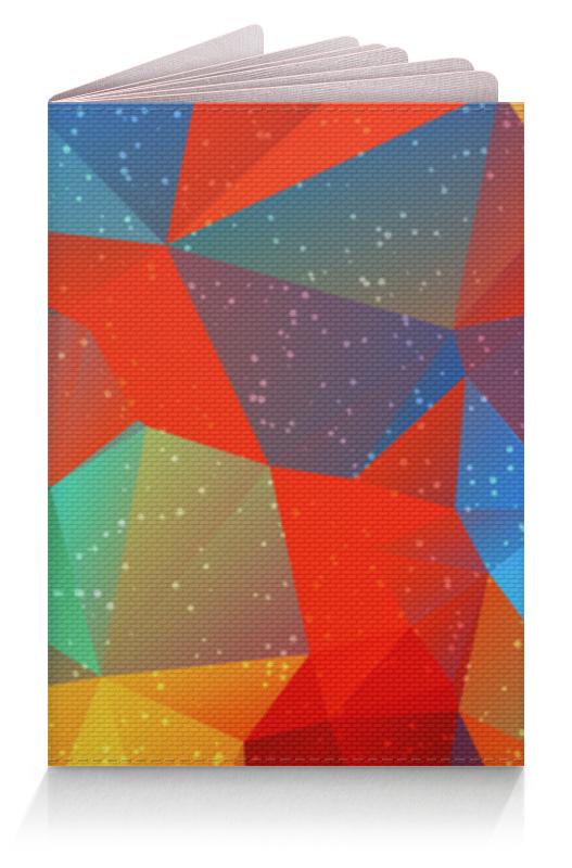 Обложка для паспорта Printio Абстрактная обложка для паспорта printio абстрактный фон