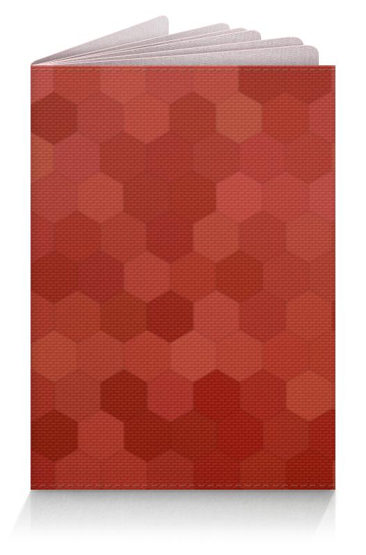 Обложка для паспорта Printio Цветные соты обложка для паспорта printio абстрактный фон