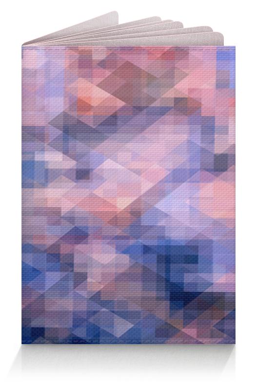Обложка для паспорта Printio Пиксель-арт. сине-розовый паттерн борцовка с полной запечаткой printio пиксель арт сине розовый паттерн
