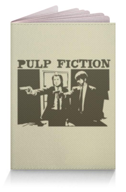 Обложка для паспорта Printio Pulp fiction обложка для паспорта printio майкл джексон